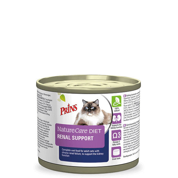 canned cat food renal diet
