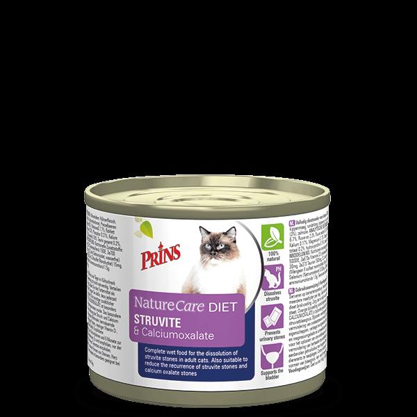 Prins Naturecare Diet Cat Struvite Amp Calciumoxalate